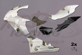 Rennverkleidung YAMAHA Komplett-Set PREMIUM (ohne Tankhaube) inkl. Schnellverschlüsse