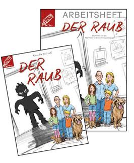 Lesestufe 5 | Der Raub - SET 1 - Arbeitsheft + Roman
