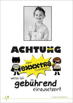 Poster - Superheld - individualisierbar