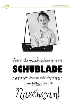 Poster - Schubladendenken - individualisierbar