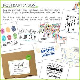 Postkartenbox Vielfalt ist Glück