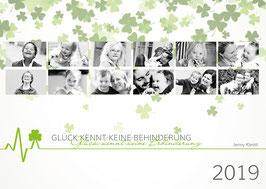 Jenny Klestil - Wandkalender A3 - Glück kennt keine Behinderung