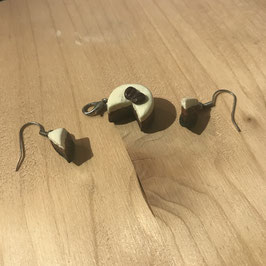 Kaffeeschnitte inkl. Ohrringe