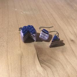 Blaubeerkuchen inkl. Ohrringe