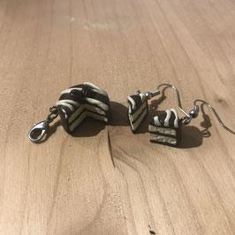 Schokokuchen inkl. Ohrringe