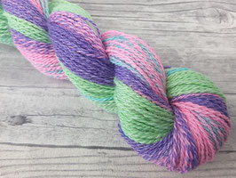 Handgesponnene Wolle FAIRYTALE (Farbverlauf)