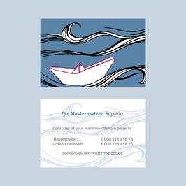 Visitenkarte für Ihr Business