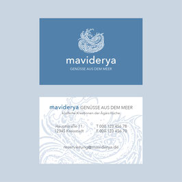 maviderya – Visitenkarte