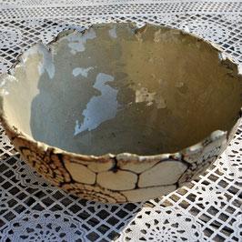 Keramikschale rustikal