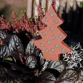 Gartenstecker Weihnachtsbaum