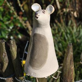 Zaun-Maus aus Steinzeugkeramik