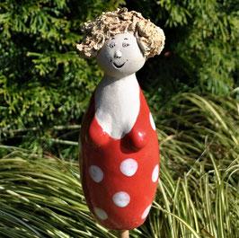 Gartenstecker-Figur Arabella