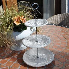 Keramik-Etagere 'Flora'
