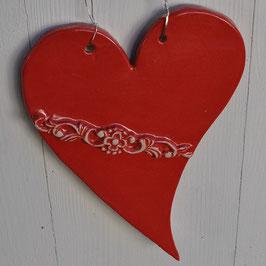 Großes Keramik-Herz