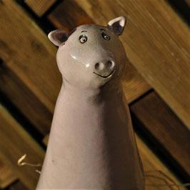 Zaunhocker Schwein