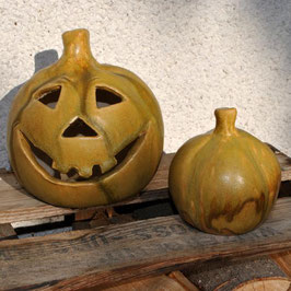 Halloween-Kürbisse im Set