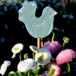 Vögelchen-Gartenstecker