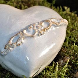 Keramik- Herz