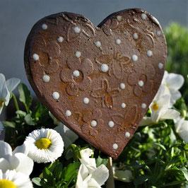 Pflanzenstecker Herz