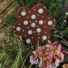 Gartenstecker Dotty natur