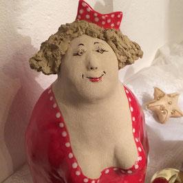 Große Keramikfigur Ulla