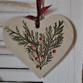 Weihnachts-Herz Thuja