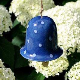 Glöckchen Dotty Blau