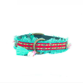 Ruby 2,5 cm Halsband M  33-43cm