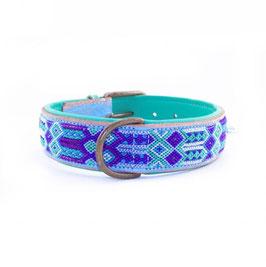 Blue 4 cm Halsband