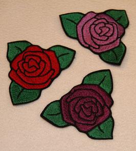 Rose einfach rot