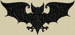 Fledermaus gross schwarz