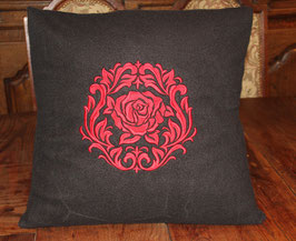Kissenbezug Rose Damask