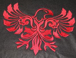 Kissenbezug Adler Damask rechts