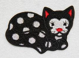 Katze gepunktet rechts