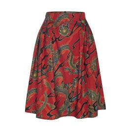 Hanna Skirt Dragons Red