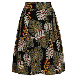 Hanna Skirt Tropical Leaves