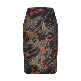Emma Skirt Dragons Black