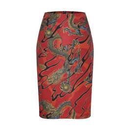Emma Skirt Dragons Red