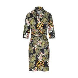 Karla Dress Tropical Leaves