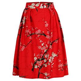 Hanna Skirt Blossom Red