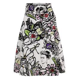Scarlett Skirt Frida White