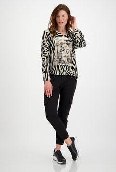 monari Bluse im Zebra-Look