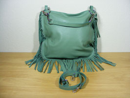 Ledertasche in mint
