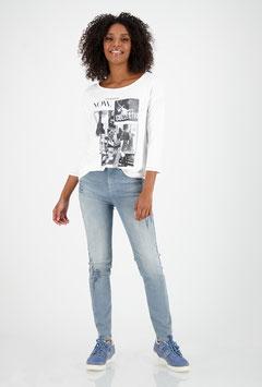 monari Jersey Shirt mit ¾ Arm