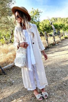 Bohemiana Divinity jacket in beige