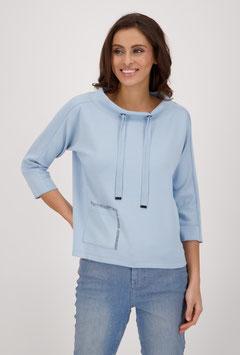 monari Sweatshirt mit Stehkragen
