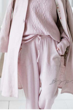 BYPIAS Tender touch pants in rose