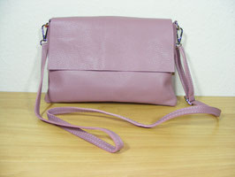 Ledertasche in rose