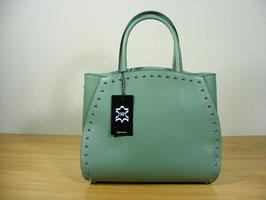 Hartschalenledertasche mintgrün