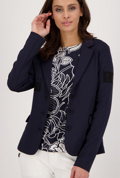 monari Legerer Blazer mit Patches